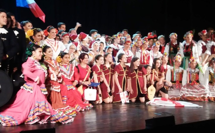 "International folklore festival ""Moonlight in Rome"", 26-30.07.2019."